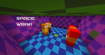 Space Wrap Minecraft Map & Project