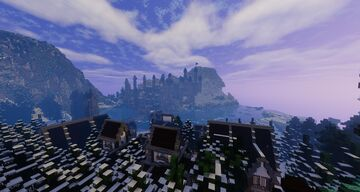 Frozen City Project (Jan 12 Check up) Minecraft Map & Project