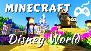 Minecraft Disney World! Minecraft Map & Project