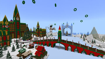 Christmas Wonderland Minecraft Map & Project