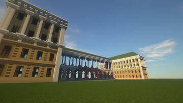 Saxon Palace and Tomb of the Unknown Soldier (Warsaw) Minecraft Map & Project