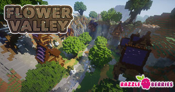 Flower Valley Minecraft Map & Project