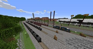 Empire Rail Remastered Traincraft Map Minecraft Map & Project