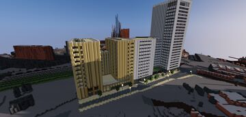 Victoria Hall King's Cross Student Accomodation and Apartments Minecraft Map & Project