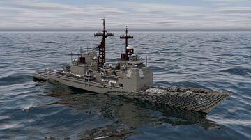 CG-52 USS Bunker Hill | Ticonderoga-class cruiser Minecraft Map & Project
