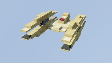 Vulture-Class Droid Starfighter Minecraft Map & Project
