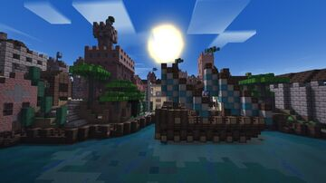 The Nuovo district Minecraft Map & Project