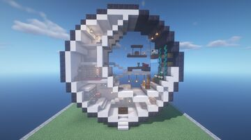 Moon House Minecraft Map & Project