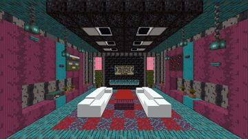 Nether Room Minecraft Map & Project