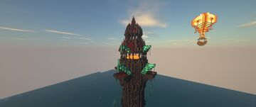 Fantasy medieval lighthouse Minecraft Map & Project