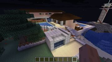 Sea Side Mansion Minecraft Map & Project