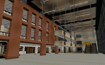 Virtual Campus of Saxion (University of Applied Sciences) Minecraft Map & Project
