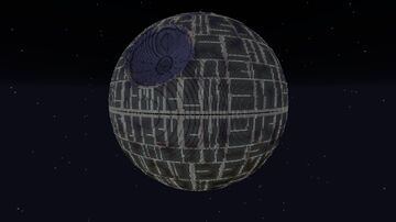 Star Wars - Death Star (With Interior) Minecraft Map & Project