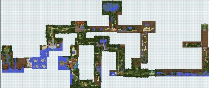 Johto overworld map