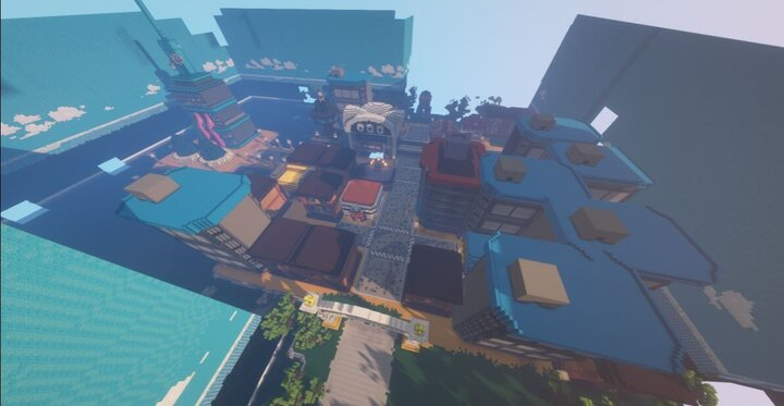 Goldenrod City  Parts are cutout due to distance