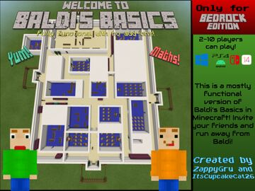 Baldi's Basics in Education and Learning Minecraft Map & Project