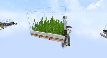 Bamboo Farm Minecraft Map & Project
