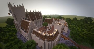 St-Michael's | Abbey Minecraft Map & Project