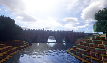 Bridge to Graystone Minecraft Map & Project