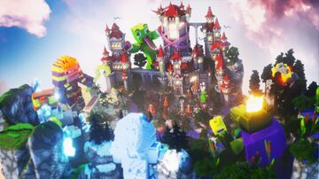UnspeakableGaming Skyblock Spawn Minecraft Map & Project