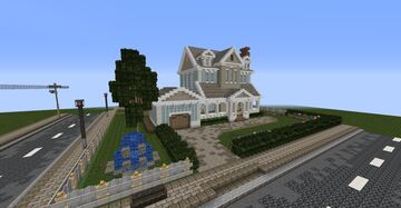 The Blue lakes : Interior Decorators Minecraft Detail Contest Minecraft Map & Project