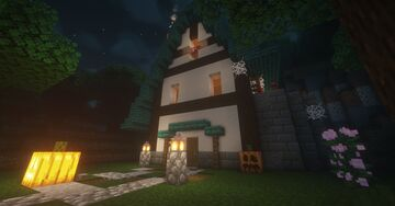 Witch's House | Spooktober Community Event Minecraft Map & Project