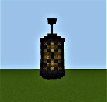 Large Hanging Lantern Minecraft Map & Project
