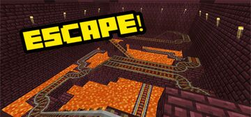 Lava Land Escape! Minecraft Map & Project