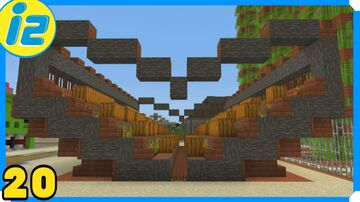 Jack o'lantern Farm Minecraft Map & Project