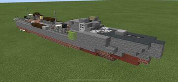 Schnellboot Minecraft Map & Project