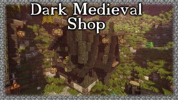 Dark Medieval Shop Minecraft Map & Project