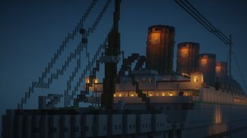 The HMHS Britannic Minecraft Map & Project
