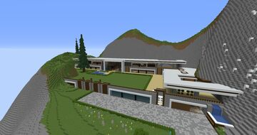 Luxury Mansion ESP Minecraft Map & Project