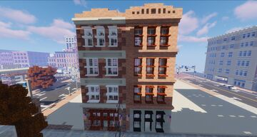 Townhouses Minecraft Map & Project