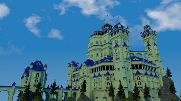 Blue Citadel Minecraft Map & Project