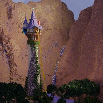 Tangled Tower Minecraft Map & Project