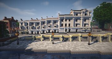 Canal Walk, Walhampton Minecraft Map & Project