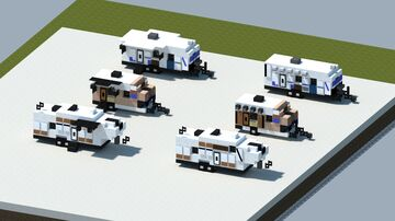 Dreamy's pack of travel trailers #1 [With download] Minecraft Map & Project