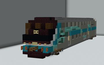 Metrolink Hyundai Rotem Cab Car {1.5:1 Scale} Minecraft Map & Project