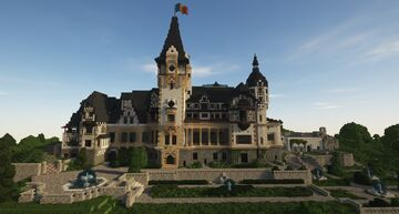 Peleș Castle Minecraft Map & Project