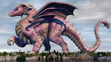 Pearl Dragoness Minecraft Map & Project