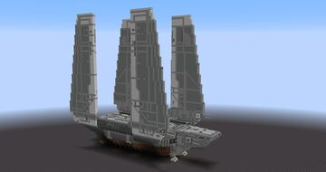 Star Wars - Zeta Class Cargo Shuttle     Download Minecraft Map & Project