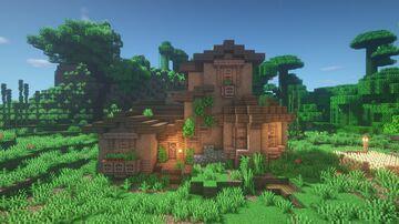 Jungle House - Minecraft Timelapse! Minecraft Map & Project