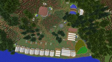 The Chaste grounds - Elektra Movie (Marvel) Minecraft Map & Project