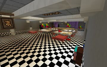 My 2nd FNaF map!!! Minecraft Map & Project