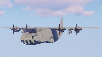 Lockheed C-130 Hercules Minecraft Map & Project