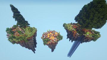 Minecraft - Custom Playable SkyBlock Map / PLAYABLE  WITH EASTER EGGS /    Survival Skyblock map Minecraft Map & Project