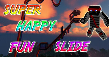 Super Happy Fun Slide (Multiplayer Infection Game) Minecraft Map & Project