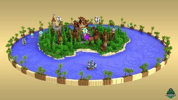 ⭐ EXCLUSIVE ⭐ Portal Island - AliensBuilds 🗾 Minecraft Map & Project