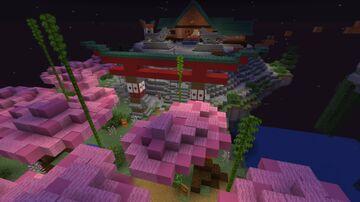 JAPANESE LOBBY Minecraft Map & Project